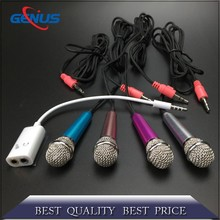 For Mobile Phone Wired Mini Microphone