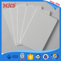 MDI108 13.56MHZ 1K F08 Blank Inkjet PVC ID Card for Epson R230 Printer