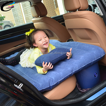 0.35mm PVC Foldable Parent-child Inflatable Back Seat Car Mattress
