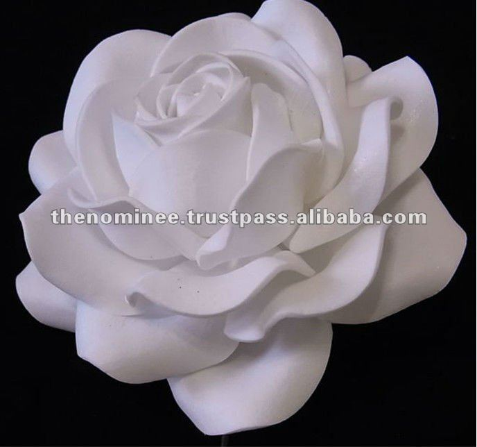Decorative Foam Gardenia Artificial Flower Making