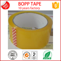 packing tape bopp single side adhesive acrylic water base glue factory