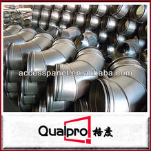 Segmented 90 Degree Galvanized Steel Pipe Bend/Elbow with Rubber
