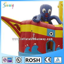 2016 Sunway Giant Inflatable Multifun Noah's Ark Bounce House For Kids