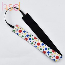 Polyester spandex headbands wholesale logo printed headbands