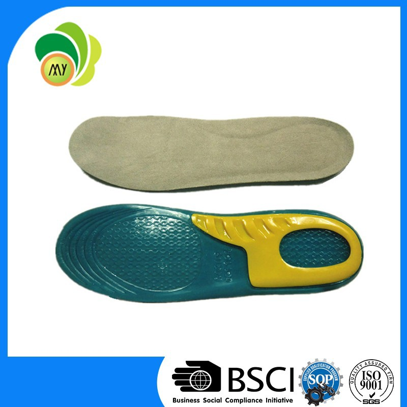new arrival silicone orthotic insoles,top quality ortholite insole foam
