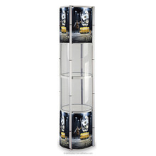 folding twister display racks tower