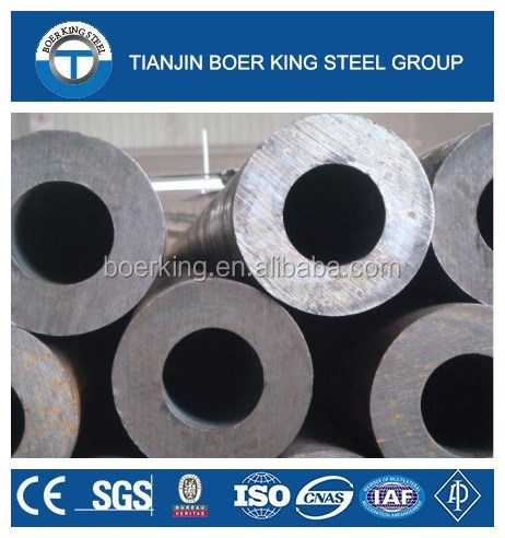 ASTM A106 high pressure seamless carbon steel boiler tube/pipe