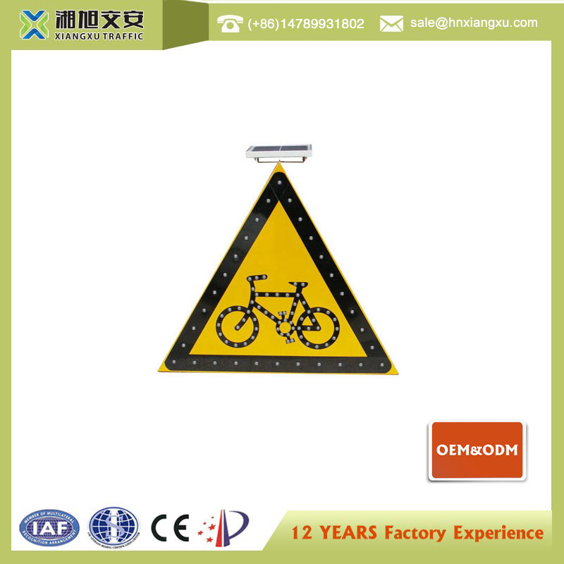 Chinese manufacturing companies led road traffic signs speed control signs