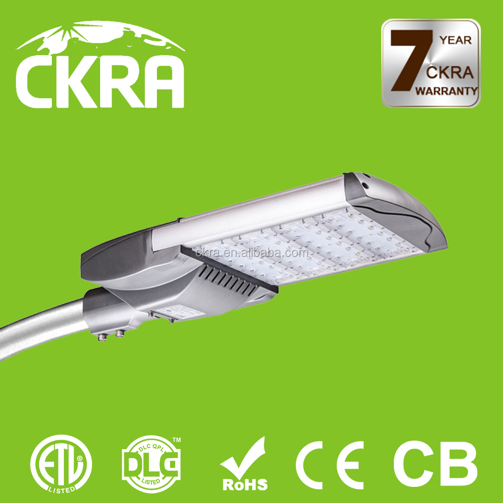 DLC/UL/ROHS listed IP65 waterproof outdoor Commercial LED road way light Pure white LED street light Meanwell driver