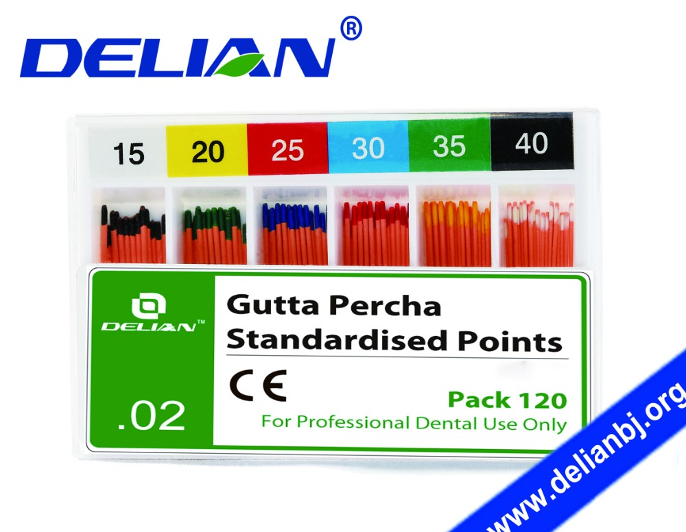 Delian Gutta Dental Gutta Percha Gutta Percha Points