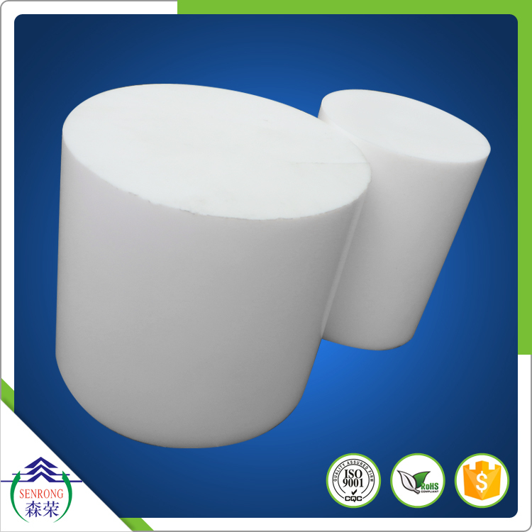 Dia 3mm to 200mm extruded PTFE rod and molded ptfe rod