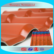 UPVC Plastic Corrugated Roofing Shingles/UPVC Roofing Sheets/Roof Tile