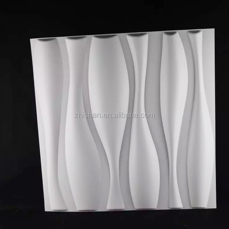 High quality modern PVC decorative wall panels 3d effect wall panels