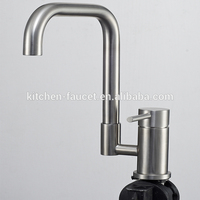 Brass Single Handles Kitchen Faucet Mixer