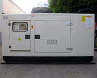 AC Prime Power 32kw Diesel Generator Set With Silent Canopy