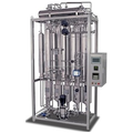 Distilled water is used to produce distilled water for medical/laboratory