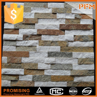 wall cladding stacked stone veneer faux rock panels