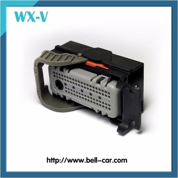 Wholesale PA66-GF10 72 Pins Terminal Connector/Automotive ECU Connector 15452126