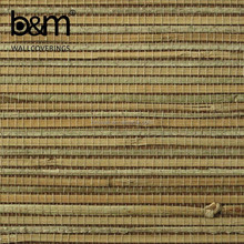 Grass weave designer wallpaper latest natural material wallpaper