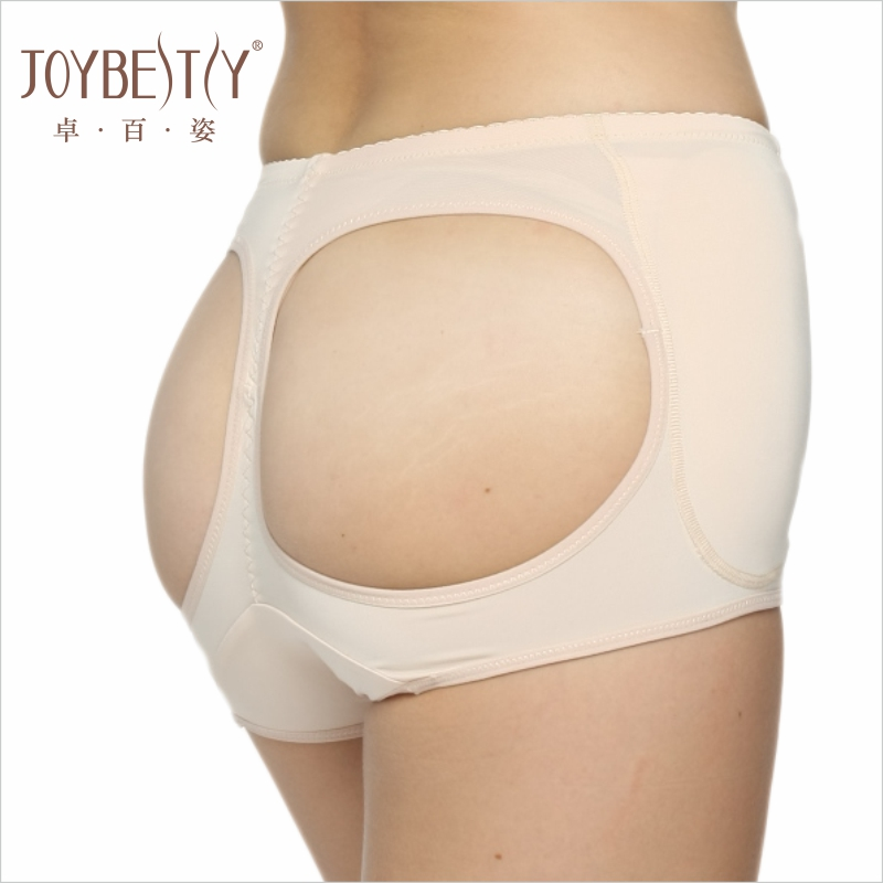 Women formed hip booster padded panty False Butt Lift Boyshort fake ass undeWomen knicker open back hip padded underwear panties