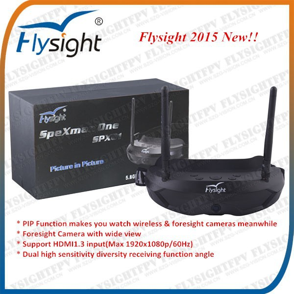 E623 For mini drone remote control seaplane wltoys f939 Flysight 5.8Ghz HDMI video goggles with charger and battery
