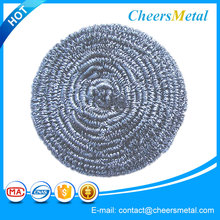 Iron scourer/stainless steel wire mesh scourer/cleaning ball