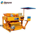 Good business choice QTM6-25 big hydraulic moving concrete block machine brick machine