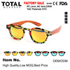 Factory price plastic wood sunglasses