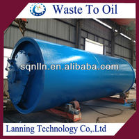 NEW DESIGN CONTINUOUS SCRAP TYRE/PLASTIC RECYCLING PLANT