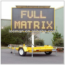 road sign trailers outdoor led video billboards Leeman stage led screen for concert