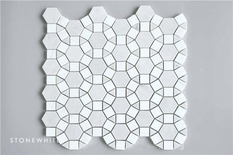 Natural interior mosaic marble decoration piece
