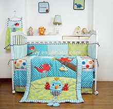 New Design Pretty Crib Set wholesale baby bedding sets brand name bedroom set