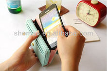 welcome OEM ODM,crown smart pouch,for iphone 5 handbag case,,
