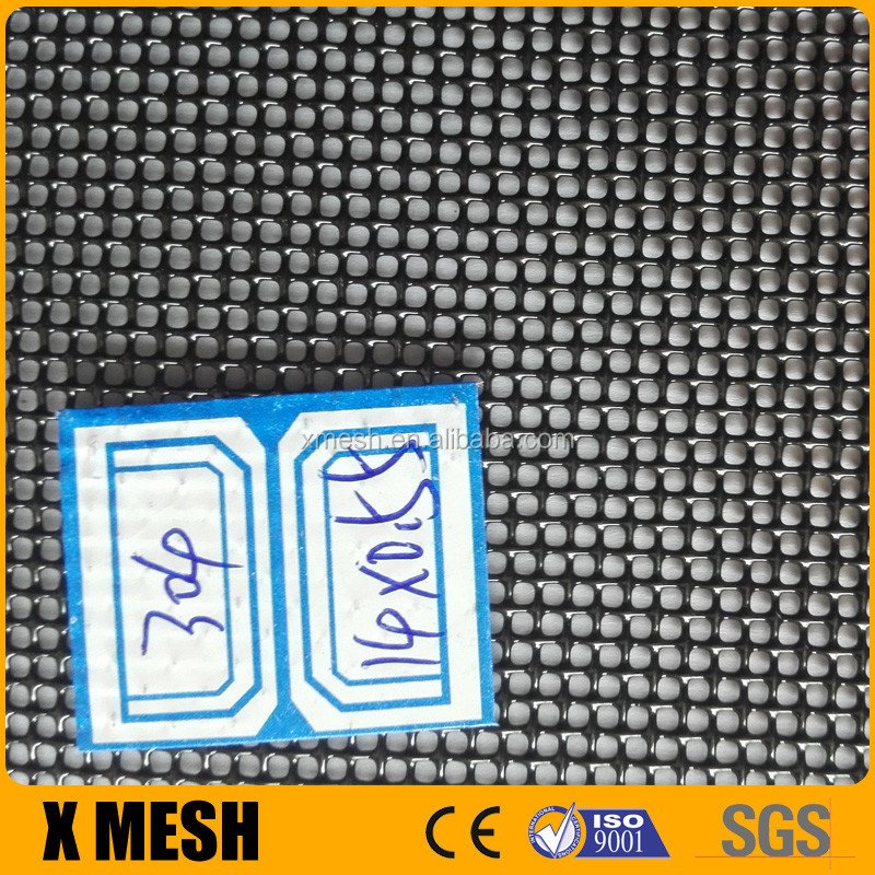 China suppliers black 316 material stainless steel window screens wire mesh frames with competitive cost prices for australia b