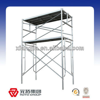 Q235 metal steel painted hot dip galvanized Frame china Scaffolding for construction