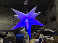 Factory price inflatable star for night club/party decoration