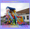 Christmas inflatable slide for festival