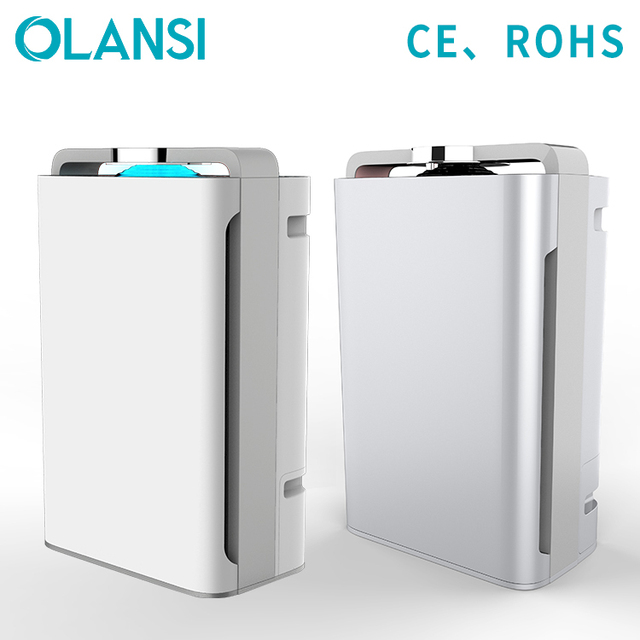 Olansi Intelligent sensor system air cooler room air purifier with humidifier air cleaner