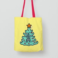 Super Quality New Products Christmas Cotton Shopping Bags