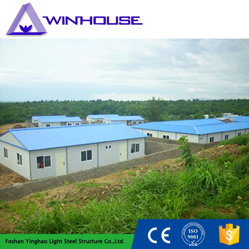 Light Steel Frame Sandwich Panel Material New Model Building Villa