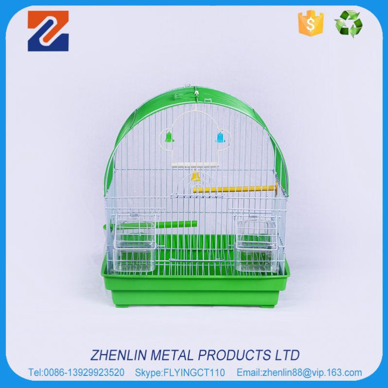 Wholesale custom high quality manufacturer pet crate luxury bird cage with wheel