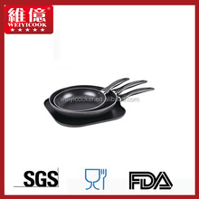 10'' Non-Stick Frying Pan With Titanium Ceramic Coating 25cm/induction cookware/enamel cookware/cook ware