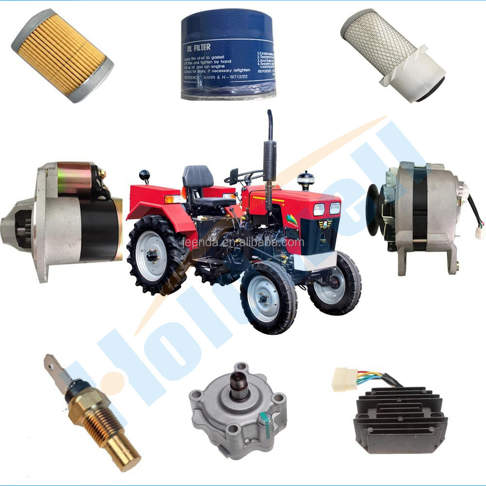 Popular Aftermarket Japanese tractor parts for Mitsubishi Kubota Iseki