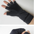 Copper cycling Comfort gloves Arthritis therapeutic Compression Gloves