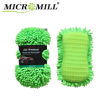 High Quality Eco Friendly Best Auto Chenille Microfiber Wash Car Cleaning Reusable Sponge