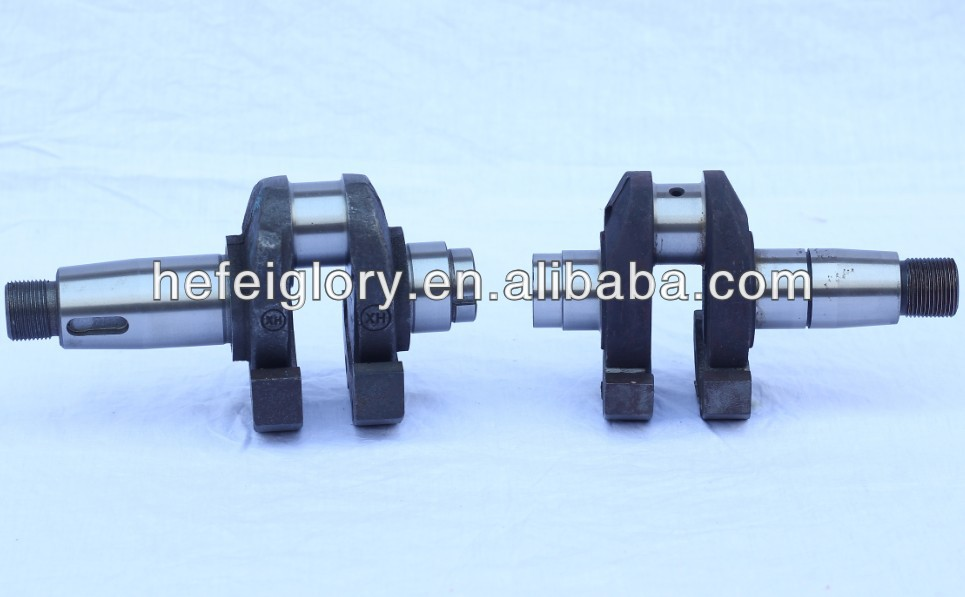 Agriculture single cylinder four stroke water cooled diesel engine spare parts crankshaft