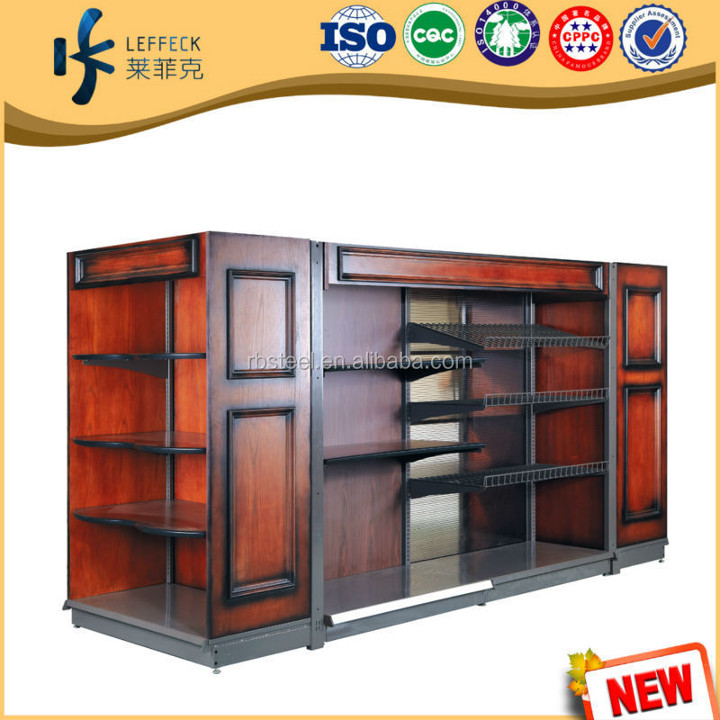 LEFFECK solid wood comercial cloth rack factory directly sale