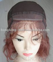 Glueless cap full lace wig