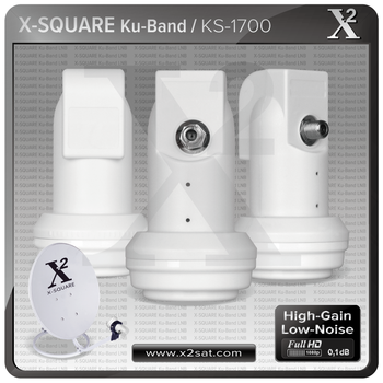X Square-Single lnb,Twin lnb and Quad lnb