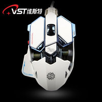 the newest illuminated metal frame optical computer gaming mouse